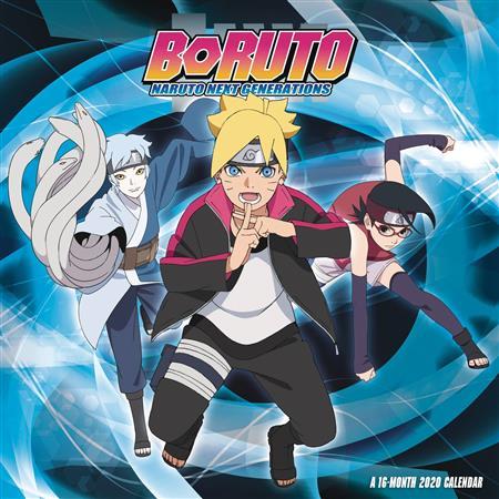 Naruto Calendar 2020 Boruto Naruto Next Generation 2020 Wall Calendar (C: 1 1 0
