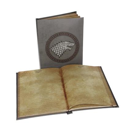 GAME OF THRONES HOUSE STARK SIGIL LIGHT UP NOTEBOOK (C: 1-1-