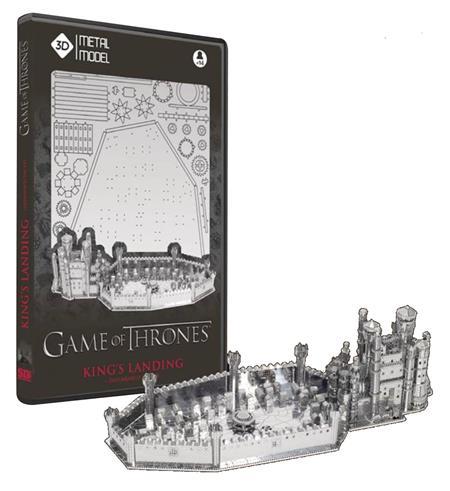 GAME OF THRONES KINGS LANDING 3D METAL MODEL KIT (C: 1-1-2)