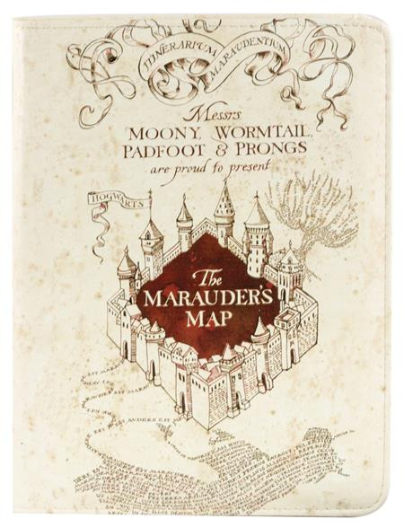 HARRY POTTER MARAUDERS MAP STANDARD JOURNAL W/PEN (C: 1-0-2)