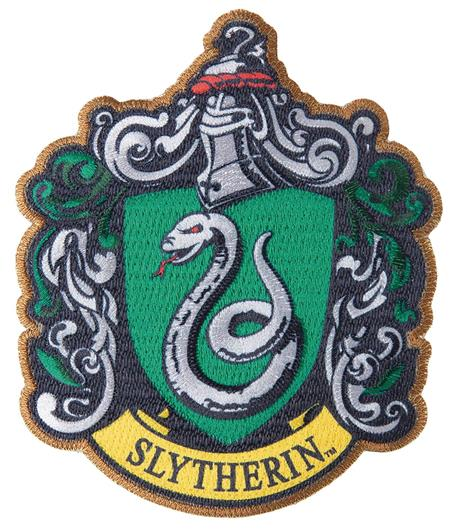 HARRY POTTER SLYTHERIN PATCH (C: 1-1-2)