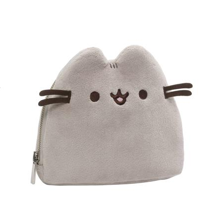 PUSHEEN PLUSH ZIPPER CASE (C: 1-1-2)