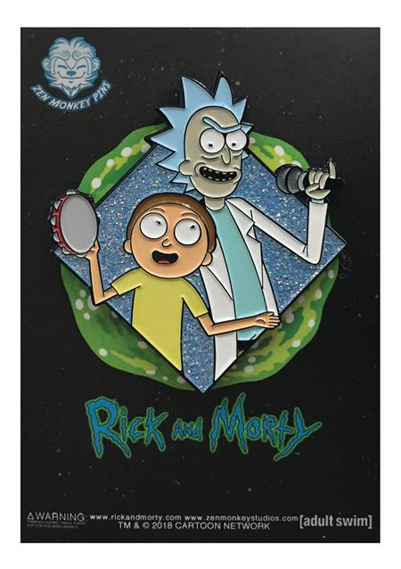 RICK AND MORTY GET SCHWIFTY DIAMOND PIN (C: 1-1-2)