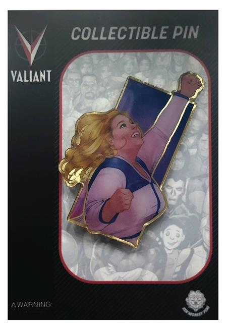 VALIANT COMICS HEROES FAITH WATERCOLOR ENAMEL PIN (C: 1-1-2)