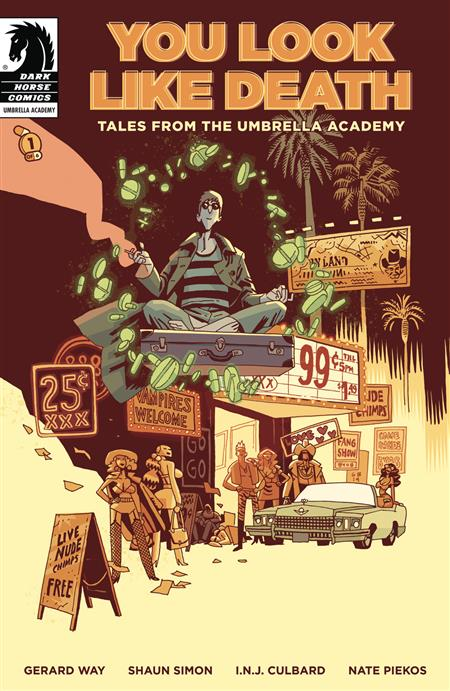 YOU LOOK LIKE DEATH TALES UMBRELLA ACADEMY #1 (OF 6) CVR A