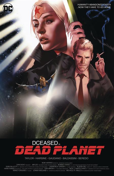 DCEASED DEAD PLANET #1 (OF 6) CARD STOCK BEN OLIVER MOVIE VA