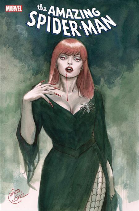 AMAZING SPIDER-MAN #48 LOPEZ LIVING VAMPIRE VAR