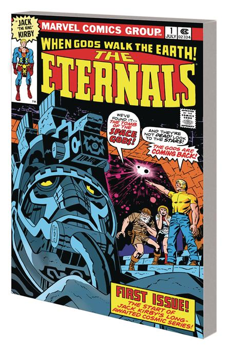 ETERNALS BY KIRBY COMPLETE COLLECTION TP CLASSIC DM VAR