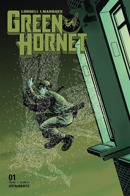 GREEN HORNET #1 CVR C MCKONE