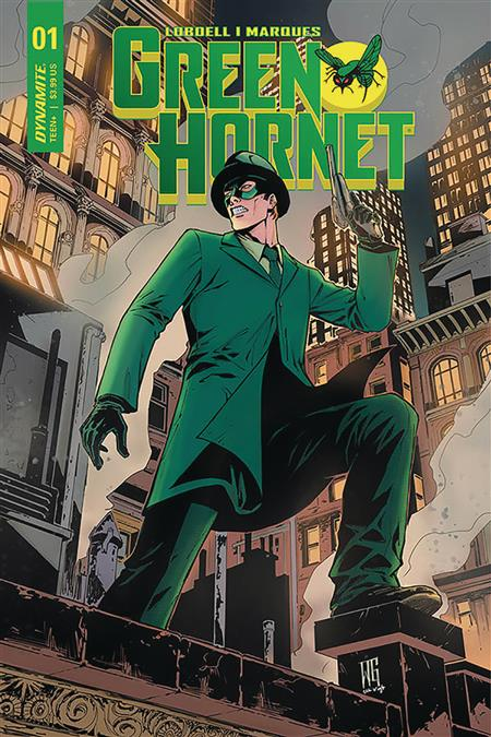 GREEN HORNET #1 10 COPY GEOVANI INCV