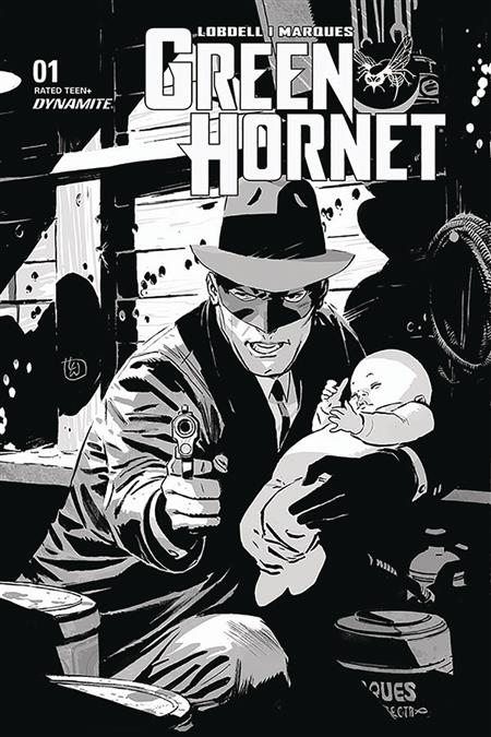 GREEN HORNET #1 35 COPY WEEKS B&W INCV
