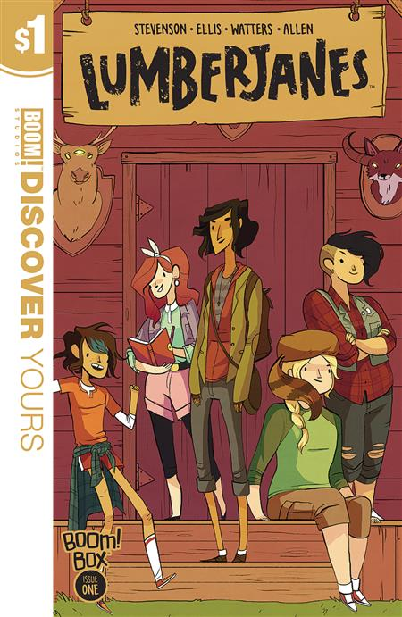LUMBERJANES DISCOVER YOURS ED #1
