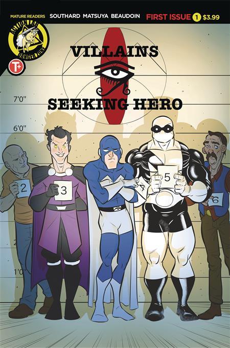 VILLAINS SEEKING HERO #1 (MR)