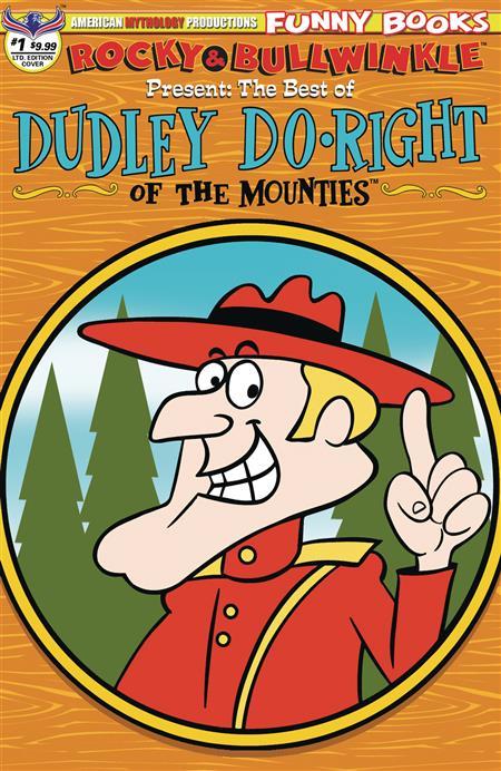 ROCKY & BULLWINKLE BEST OF DUDLEY DORIGHT #1 LTD RETRO CVR