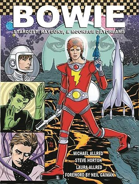 BOWIE STARDUST RAYGUNS & MOONAGE DAYDREAMS PX HC GN 2ND ED (