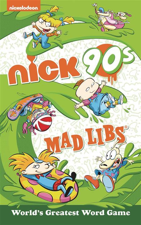 NICKELODEON NICK 90S MAD LIBS (C: 1-1-0)