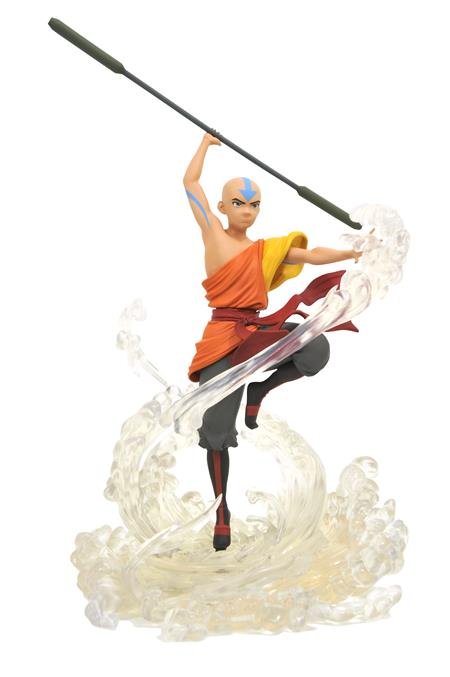 AVATAR GALLERY AANG PVC STATUE (C: 1-1-2)