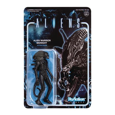 ALIENS WV1 ALIEN WARRIOR MIDNIGHT REACTION FIGURE (Net) (C:
