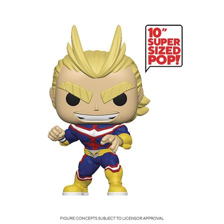 POP ANIMATION MY HERO ACADEMIA ALL MIGHT 10IN FIG (C: 1-1-2)