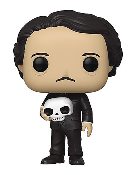 POP ICONS EDGAR ALLAN POE W/ SKULL VIN FIG (C: 1-1-2)