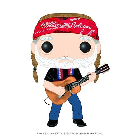 POP ROCKS WILLIE NELSON VINYL FIGURE (C: 1-1-2)