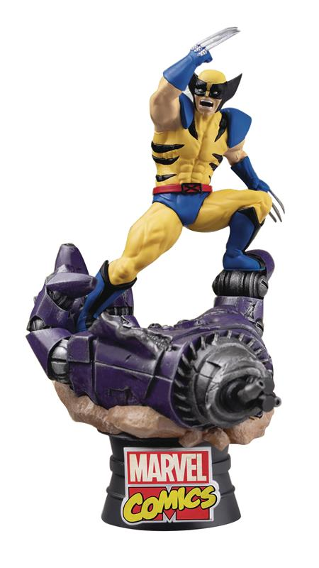 MARVEL COMICS WOLVERINE D-STAGE SERIES PX 6IN STATUE (C: 1-1