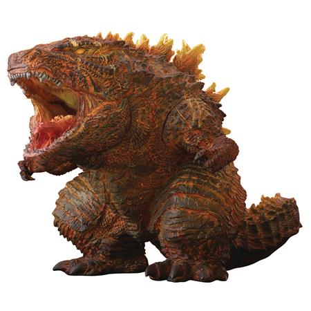BURNING GODZILLA DEFO REAL SOFT VINYL STATUE (Net) (C: 0-1-2