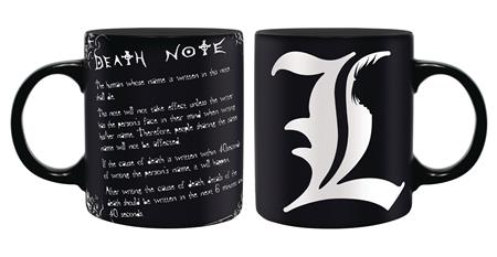 DEATH NOTE RULES OF THE DEATH NOTE MUG (C: 1-1-2)