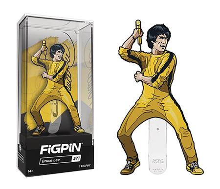 FIGPIN BRUCE LEE YELLOW SUIT PIN (C: 1-1-0)