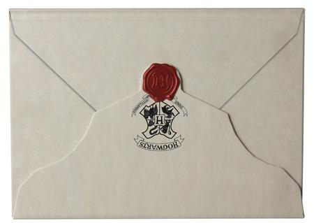 HARRY POTTER HOGWARTS ACCEPTANCE LETTER RULED JOURNAL (C: 1-