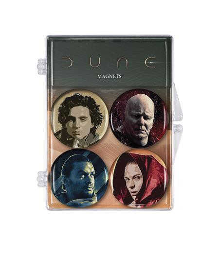 DUNE CHARACTER MAGNET 4-PACK (C: 0-1-2)