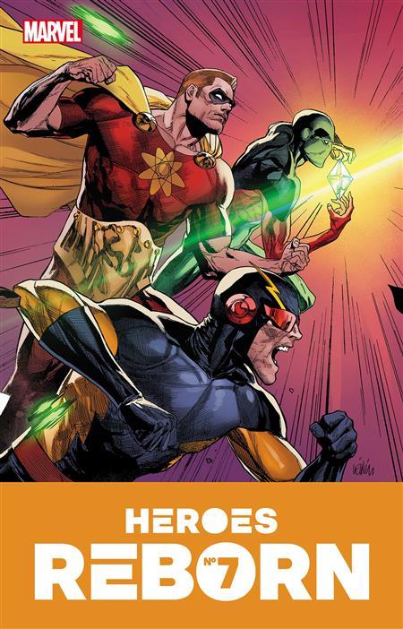HEROES REBORN #7 (OF 7)