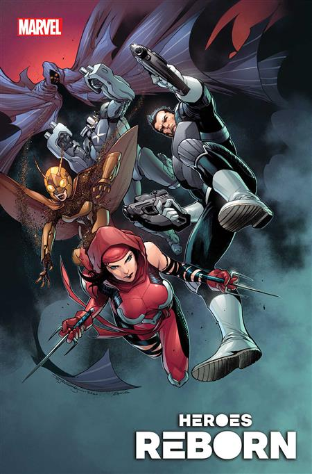 HEROES REBORN SQUADRON SAVAGE #1