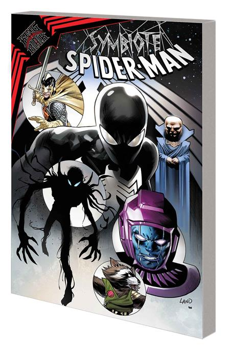 SYMBIOTE SPIDER-MAN KING IN BLACK TP