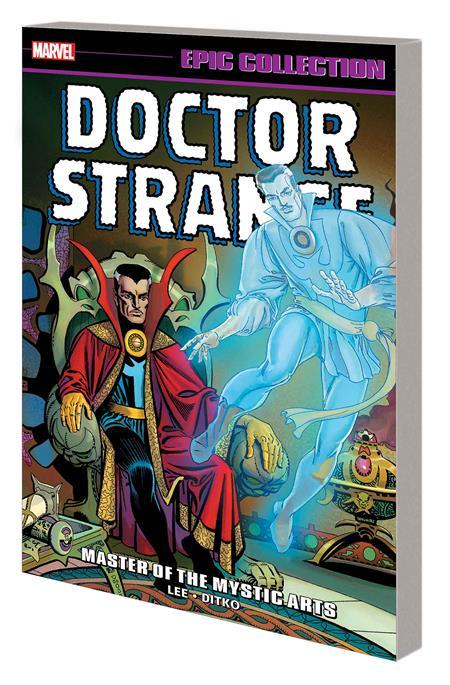 DOCTOR STRANGE EPIC COLLECTION TP MASTER MYSTIC ARTS NEW PTG