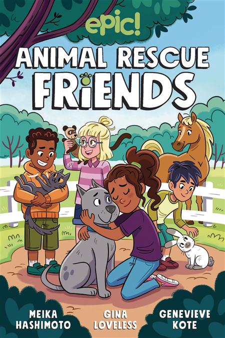ANIMAL RESCUE FRIENDS GN (C: 0-1-0)
