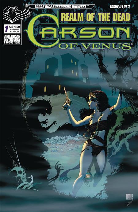 CARSON OF VENUS REALM OF DEAD #1 CVR B WOLFER