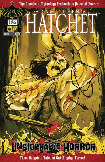 HATCHET UNSTOPPABLE HORROR #1 CVR C LTD ED BLOODY VAR (MR)