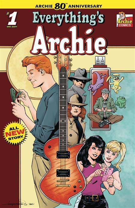 ARCHIE 80TH ANNIV EVERYTHING ARCHIE #1 CVR D AARON LOPRESTI