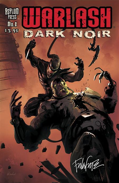 WARLASH DARK NOIR SGN ED #1 (OF 3) (C: 0-1-2)