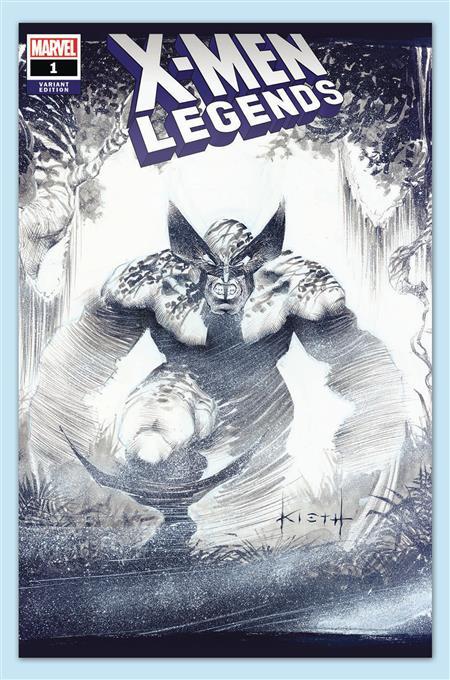 X-MEN LEGENDS #1 SGN KIETH VAR
