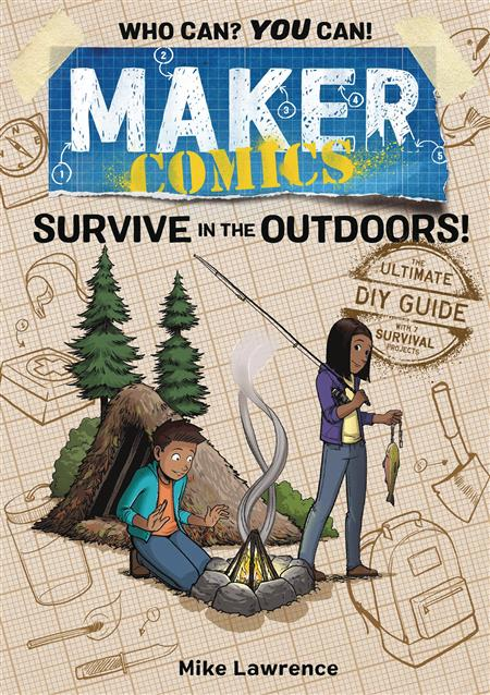 MAKER COMICS GN SURVIVE IN OUTDOORS (C: 0-1-0)