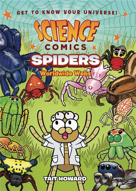 SCIENCE COMICS SPIDERS GN (C: 0-1-0)