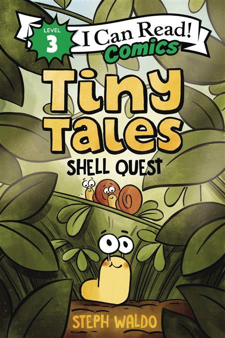 I CAN READ COMICS LEVEL 3 HC GN TINY TALES SHELL QUEST (C: 0