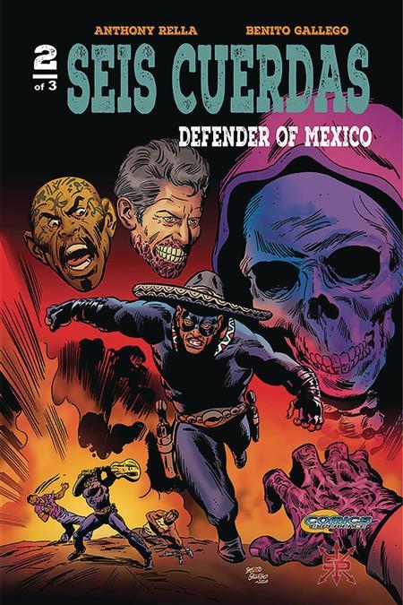 SEIS CUERDAS DEFENDER OF MEXICO #2 (OF 3) (MR)