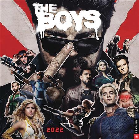 BOYS (TV) 2022 WALL CALENDAR (C: 1-1-1)