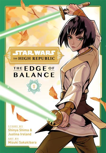 STAR WARS HIGH REPUBLIC EDGE OF BALANCE GN (C: 0-1-2)