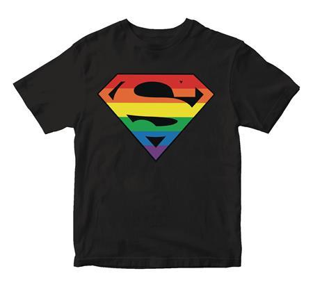SUPERMAN PRIDE SYMBOL T/S LG (C: 1-1-2)