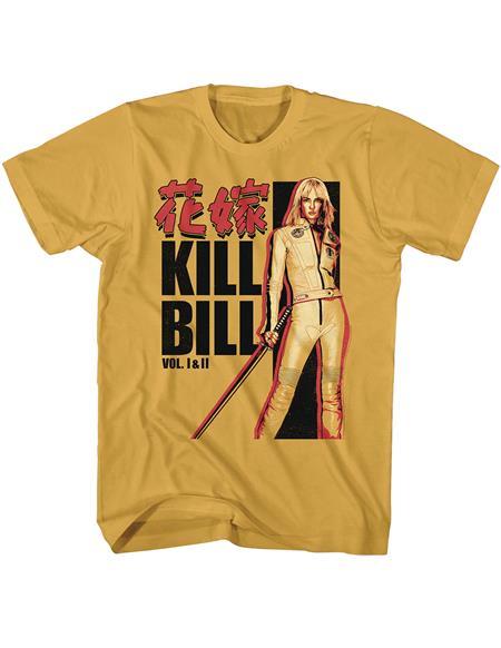 KILL BILL THE BRIDE YELLOW T/S LG (C: 1-1-2)