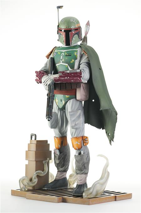 STAR WARS RETURN OF THE JEDI MILESTONES BOBA FETT STATUE (C:
